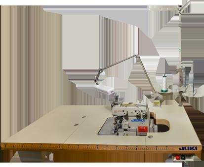 Overlock-Nähmaschine Rollsaum: Auf Rollsäume spezialisierte Industrienähmaschine, für den perfekten Abschluss von Kleidern, Ärmeln, und Saum von T-Shirts, Seidenschals usw.